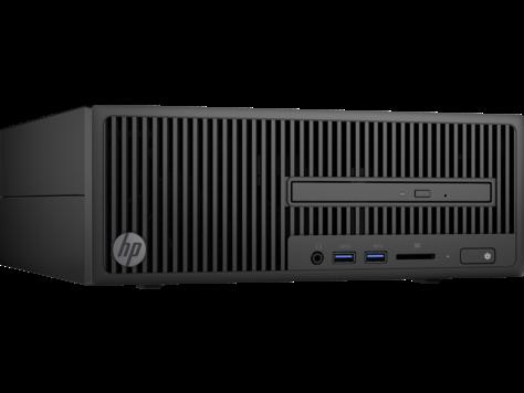 HP PC 280 G2 SFF i3-7100 4GB 128GB SSD intelHD DVDRW W10P