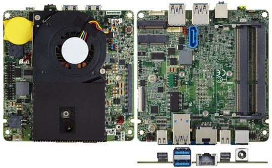 Intel NUC Board 5i3MYBE i3/USD3/mDP/eDP/M.2/2,5""