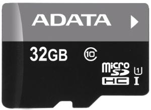 ADATA 32GB MicroSDHC Premier,class 10,with Adapter