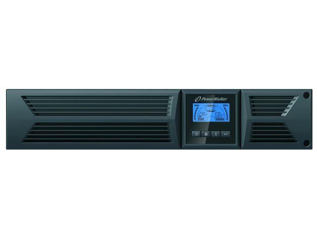 Power Walker UPS Line-Interactive 1000VA, 19'' 2U, 4x IEC, RJ11/RJ45, USB, LCD