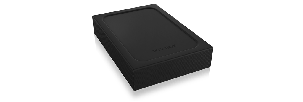 ICYBOX IB-256WP IcyBox Externí box pro 2.5 SATA HDD/SSD USB 3.0 write-protection-switch, LED