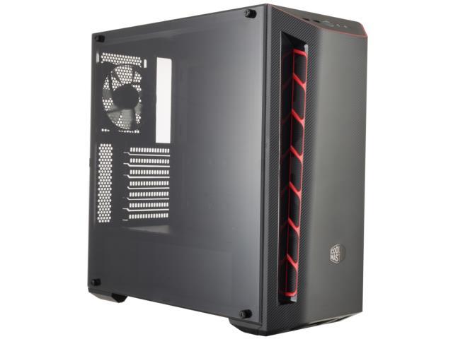 Cooler Master PC skříň MasterBox MB510L Red, Window