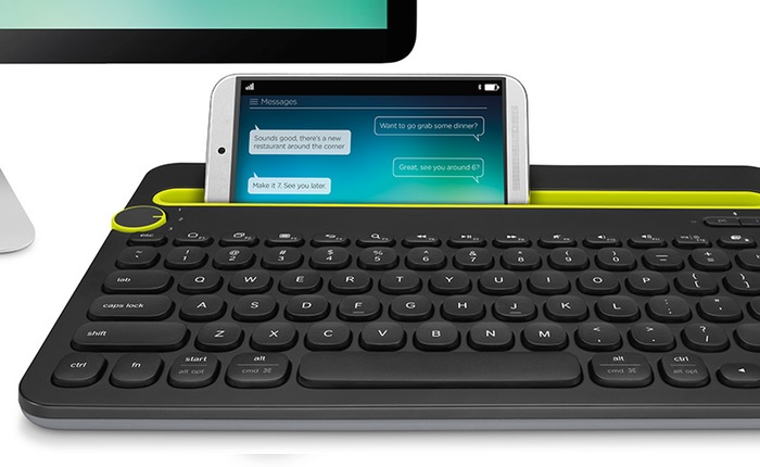 Logitech kláv. Bluetooth Multi-Device Keyboard K480 US, bílá