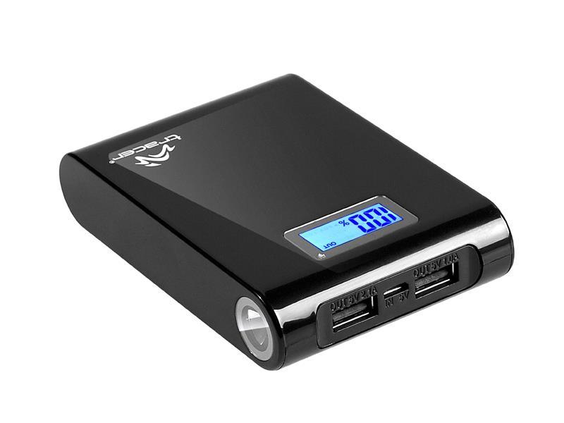 Tracer Power Bank 10400mAh externí baterie Li-Ion, černá