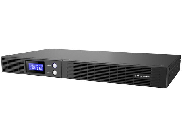 Power Walker UPS Line-Interactive 1000VA 4x IEC OUT, USB HID/RS-232, Rack 19''