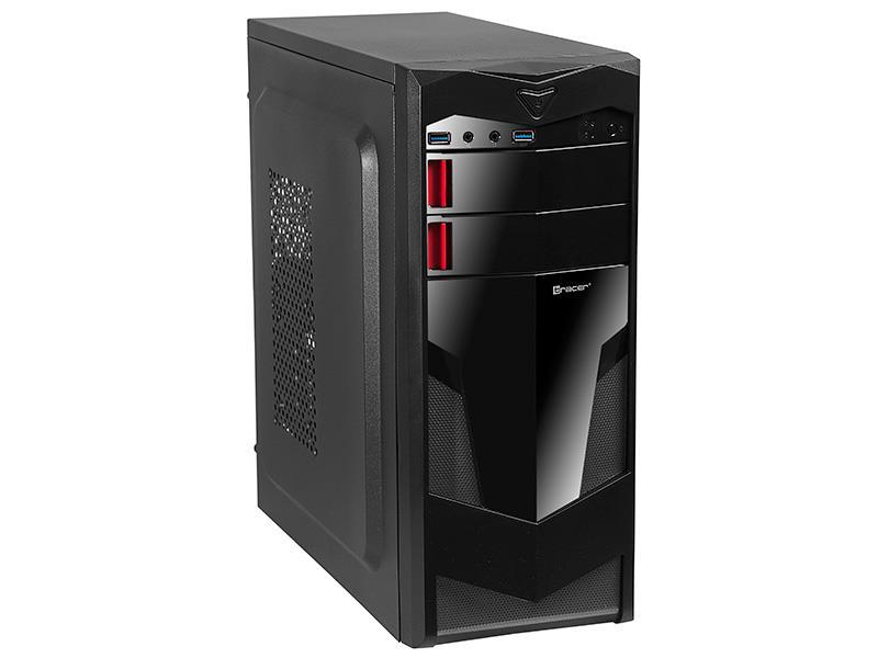 Case ATX TRACER SIENA (2x USB 3.0 + 1x 12cm RED FAN)