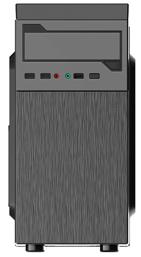 Gembird PC skříň Midi Tower Fornax 353, černá