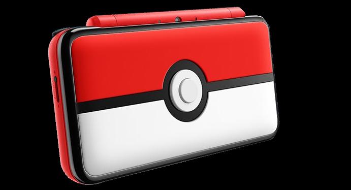 New Nintendo 2DS XL Pokeball Edition
