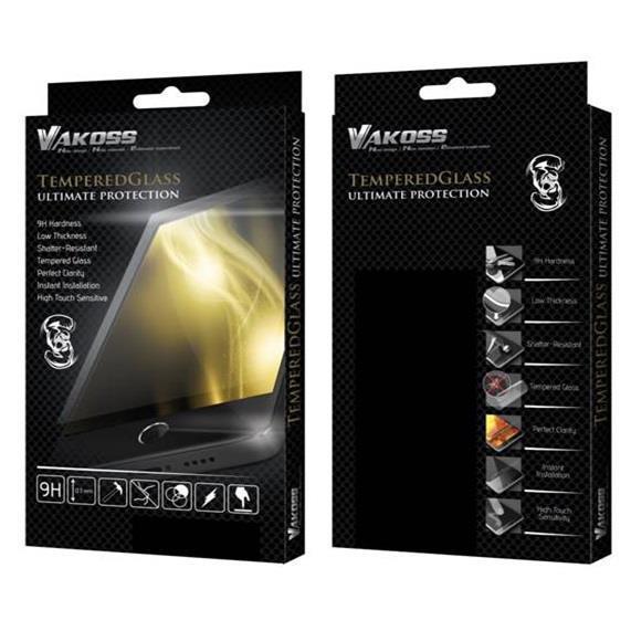 VAKOSS tvrzené ochranné sklo pro Tablet Samsung Tab A T550 Black, 9H