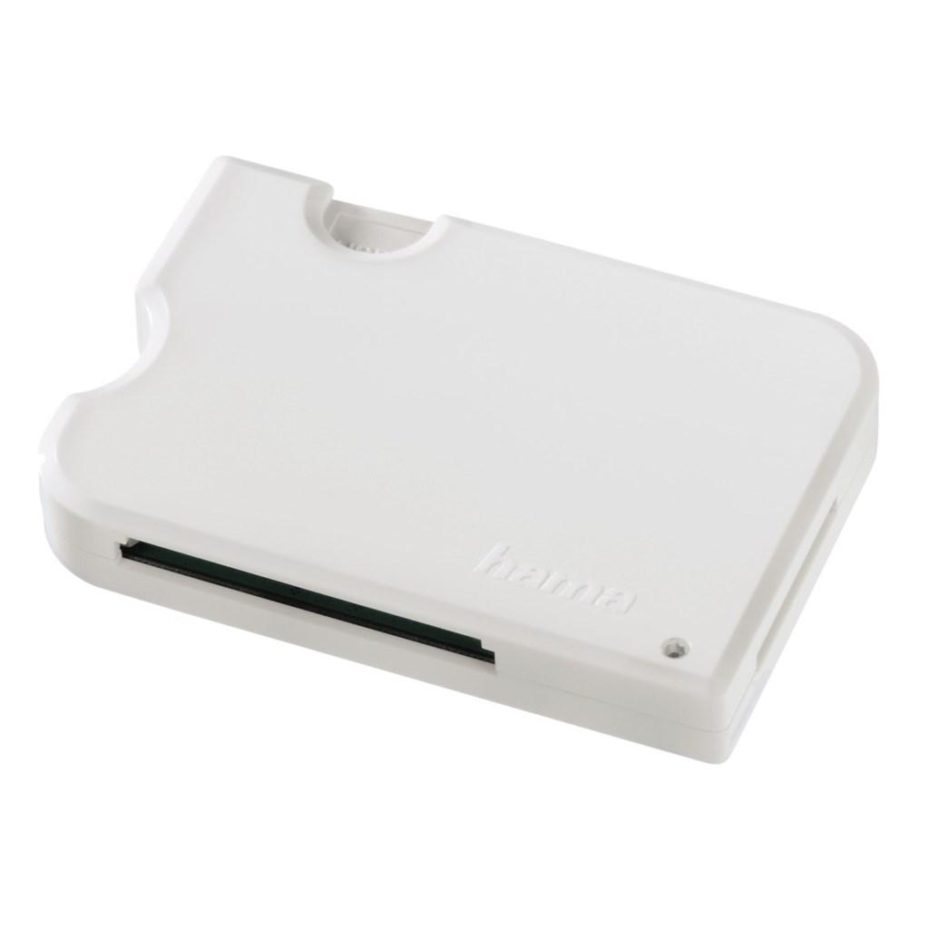 Hama čtečka karet 3v1 USB 3.0 SuperSpeed, bílá