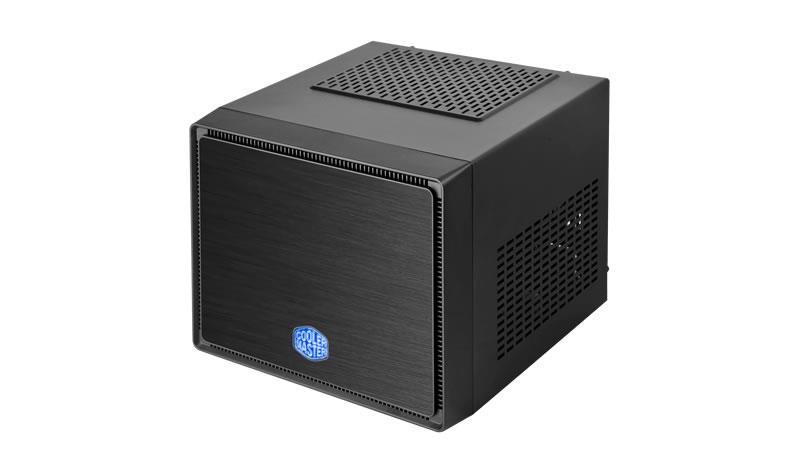 Cooler Master Elite 110 PC skříň černá, Mini ITX, USB 3, brushed aluminium panel