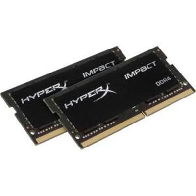 Kingston DDR4 32GB (Kit 2x16GB) HyperX Impact SODIMM 2933MHz CL17 černá
