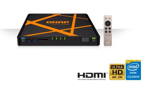 QNAP TBS-453A-8G - 4-Bay M.2 SSD NASbook