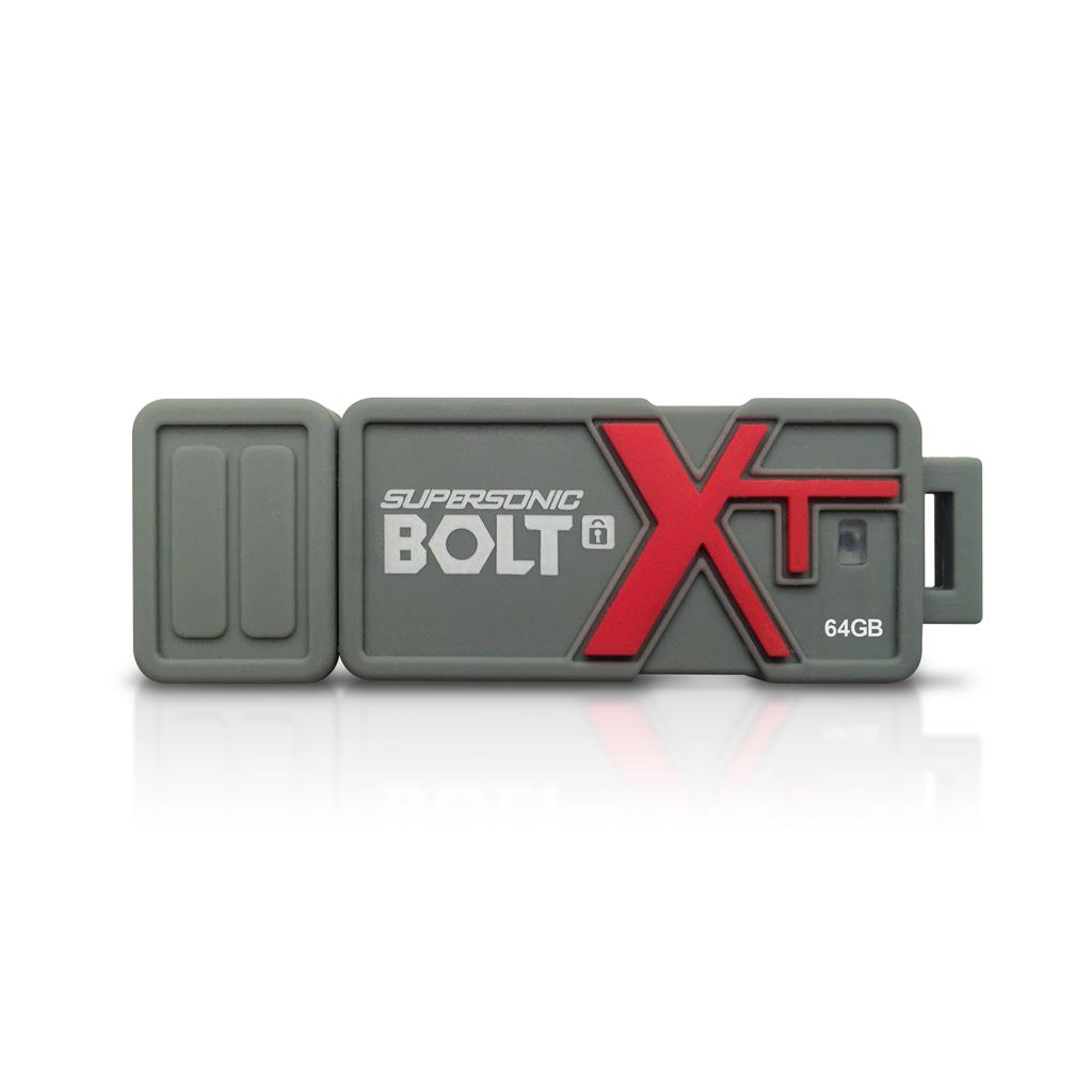 Patriot Supersonic Bolt XT 64GB USB 3.0 flashdisk, 256-bit AES