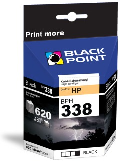 Ink Black Point BPH338 | Black | 22 ml | 620 p. | HP C8765