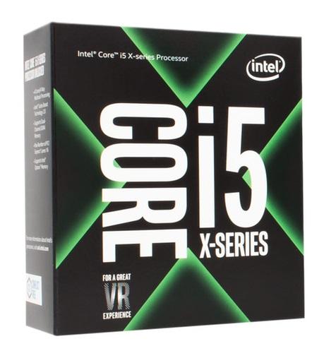 Intel Core i5-7640X, Quad Core, 4.00GHz, 6MB, LGA2066, 14nm, 112W, BOX