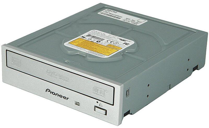 Pioneer DVR-S21LSK DVD±RW/SATA/interní/Labelflash/stříbrná/retail