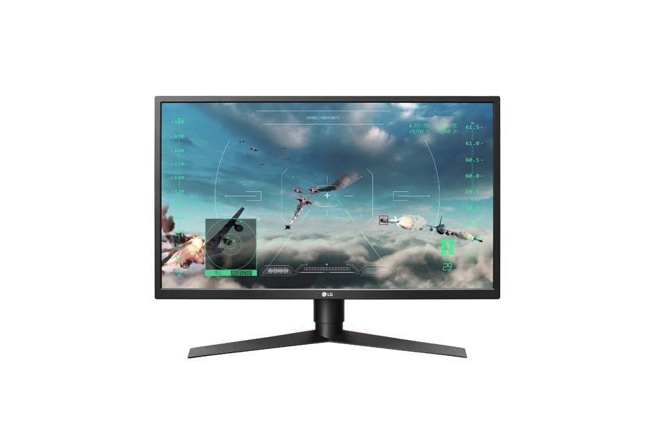 LG Monitor LCD 27GK750F-B 27'', TN, FullHD, HDMI, DP