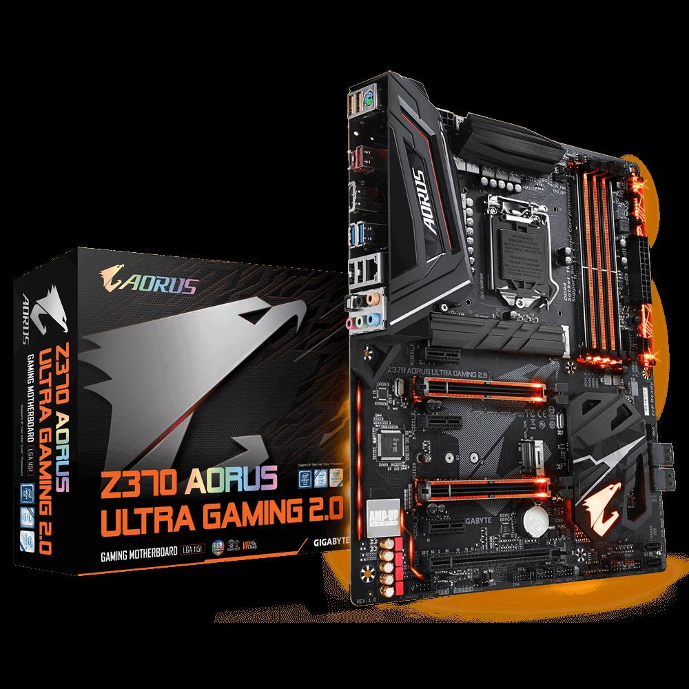 Gigabyte Z370 AORUS Ultra Gaming 2.0 (rev. 1.0)