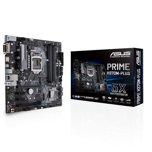 ASUS PRIME H370M-PLUS, LGA1151 H370 ATX