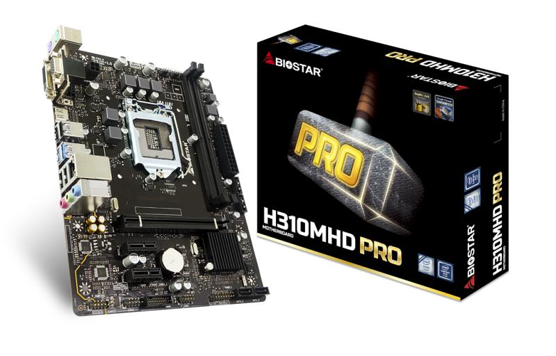 Biostar H310MHD PRO, Intel H310, LGA 1151, DDR4