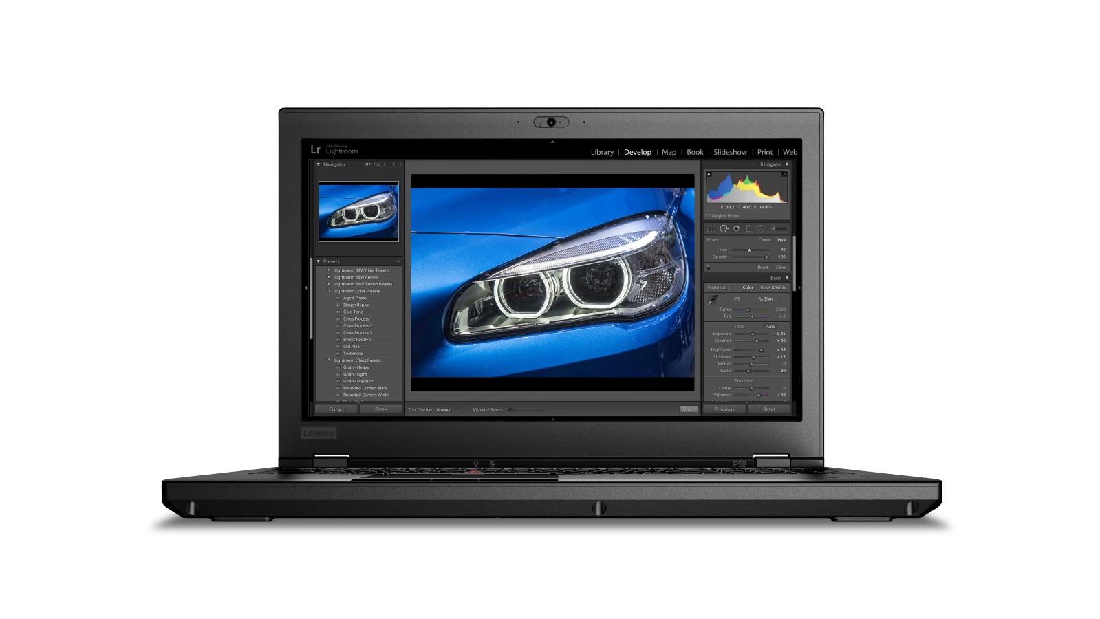 Lenovo ThinkPad P52 15.6 FH/i7-8850H/512+1SSD/16GB/P2000/F/W10P + monitor X24-20 ZDARMA