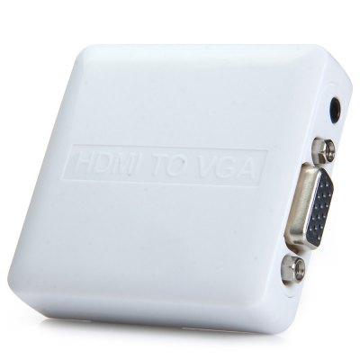 PremiumCord HDMI elek. konvertor na VGA + audio