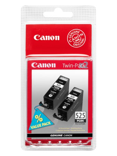 Canon BJ CARTRIDGE PGI-525 PGBK Twin Pack