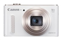 Canon PowerShot SX 610 HS, 20.2Mpix, 18x zoom, Wi-Fi - Bílý