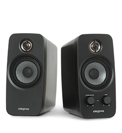 Creative Inspire T10, reproduktory 2.0, RMS 10W, BasXPort