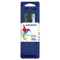 SODIMM DDR 512MB 400MHz (PC3200) ADATA, retail