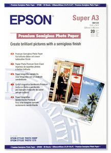 EPSON A3+, Premium Semigloss Photo Paper (20listů)