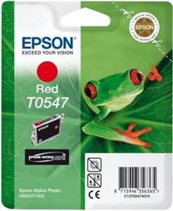 EPSON C13T05474010 Inkoust Epson T0547 red Stylus Photo R800/1800