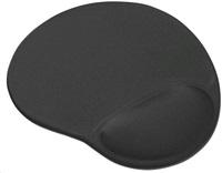Trust Bigfoot, černá 16977 podložka Gel Mouse Pad - Black