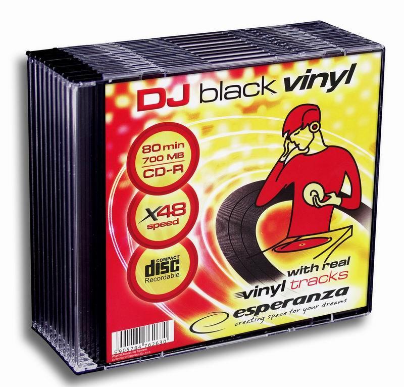 Esperanza CD-R [ slim jewel case 10 | 700MB | 48x | Vinyl ]