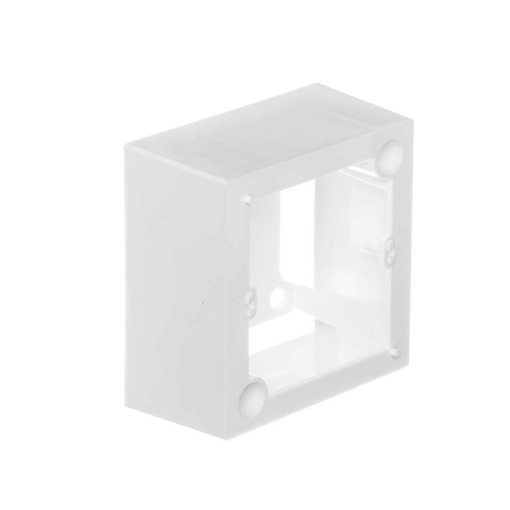 Netrack NBOX krabice pro zásuvky na omítku 2M