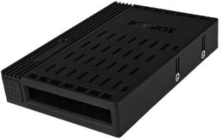 ICYBOX IB-2536StS IcyBox konvertor 3.5 pro 2.5 SATA HDD, černý