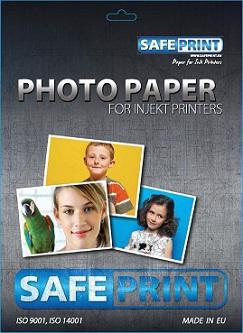 SAFEPRINT Fotopapír pro inkoustové tiskárny, glossy, 260 g, A6, 20 sheets
