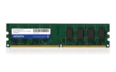 4GB DDR2 800MHz ADATA CL6, kit 2x2GB