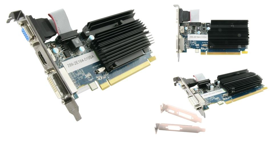 Sapphire HD6450 1GB (64) pasiv D H Ds D3