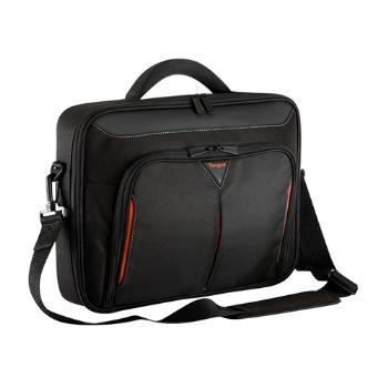 Targus Taška 15-15.6'' / 38.1 - 39.6cm Classic+ Clamshell Case, černá a červená