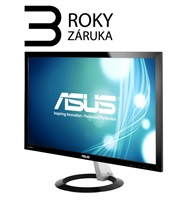 "ASUS MT 23"" VX238H 1920x1080, LED, D-SUB, 2xHDMI, 1ms, 250cd, repro, black,"