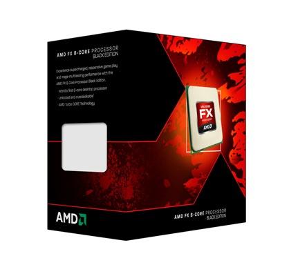 CPU AMD FX-8350 8core Box (4,0GHz, 16MB)