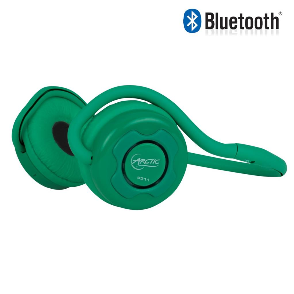 ARCTIC Sound P311 GREEN Stereo Bluetooth Headset