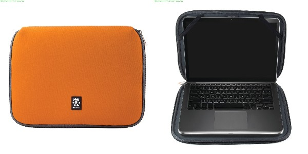 "Crumpler Base Layer 13"" - burned orange/anthracite"