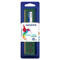 DIMM DDR3 8GB 1333MHz CL9 512x8 ADATA, retail