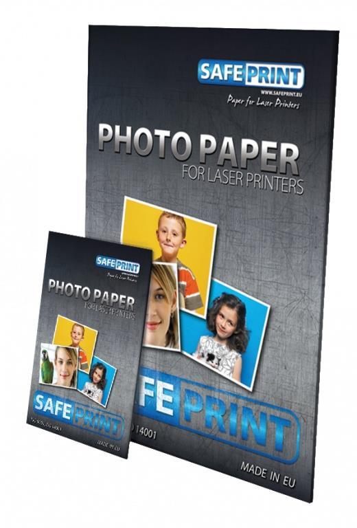 SAFEPRINT Fotopapír pro inkoustové tiskárny High Glossy, 240 g, A6, 20 sheets
