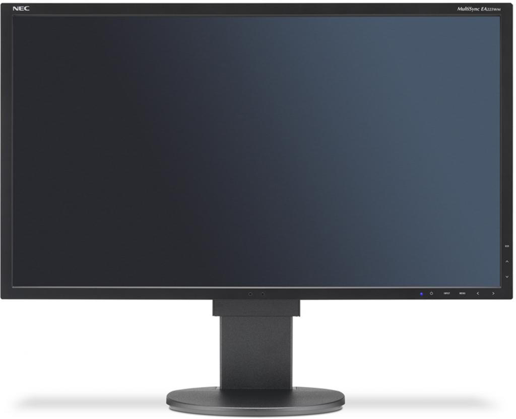 "NEC 22"" EA223WM - 1680x1050, TN, W-LED, 250cd, D-sub, DVI, DP, USB, Repro, černý"