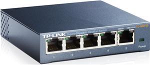 TP-Link TL-SG105 switch 5xLan 10/100/1000Mbps, kovový