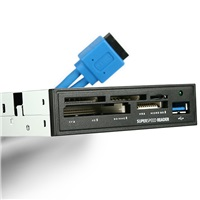 """AXAGON CRI-S3, USB 3.0 interní 3.5"""" čtečka 5-slot ALL-IN-ONE"""